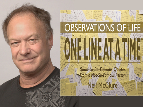 Congratulations to Neil McClure for his Bestseller, Observations of